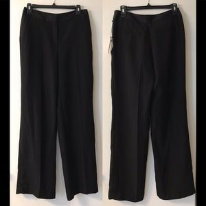 VINCE CAMUTO Pleated High Rise Wide Leg Trousers